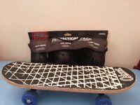 kids skateboard with safety pad kit