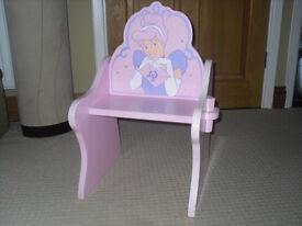 Wooden Princess childs chair