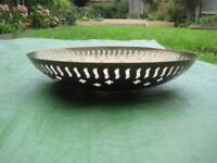 Beautifully Patterned Brass Fruit Bowl