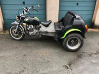 Honda cx500 trike project