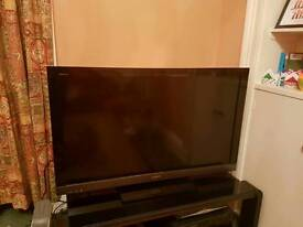 """Sony Bravia 46"""" HD LCD flat screen TV - REDUCED - previously bought for £1100"""