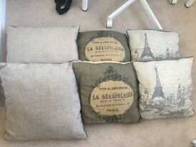 Next cushions x 6