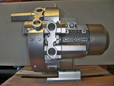 Regenerative Blower 8.84 Hp 115 Cfm 336h2o Max Press