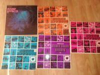 5 x bbc sound effects vinyls LP's