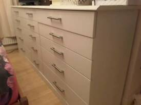Bedroom chest of drawers.