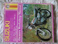 Haynes manual for Suzuki trail bikes TC90 up to TS400.