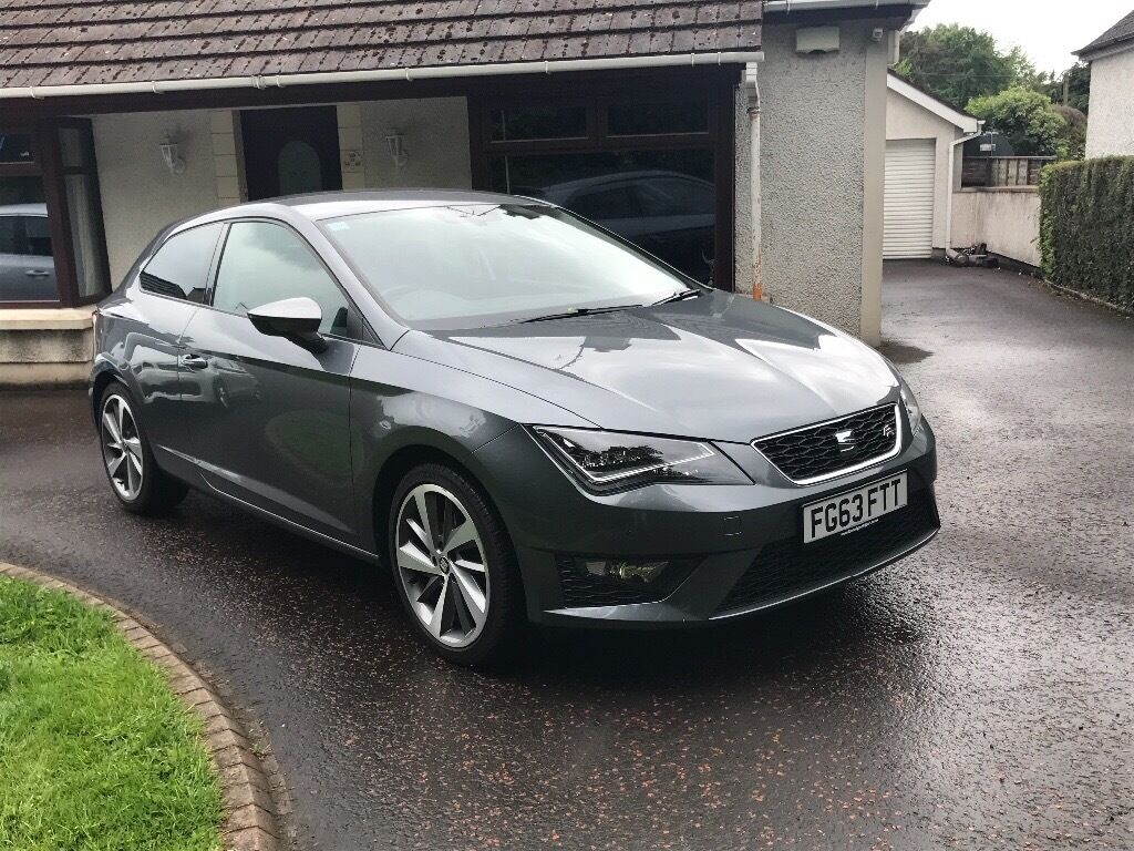 seat leon fr 2013 3dr in ballymena county antrim. Black Bedroom Furniture Sets. Home Design Ideas