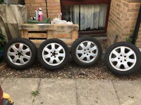 Mercedes-Benz original rims (ally wheels) 16'' - set of 4