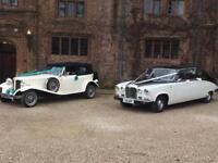 WEDDING VINTAGE CARS & LIMOUSINES SUFFOLK IPSWICH BURY ST EDMONDS