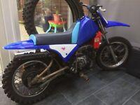 Yamaha pw80 not pw50 ktm50