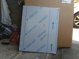 60cm x 75cm Stainless steel splashback.