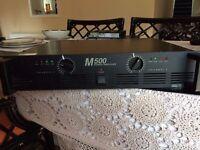 Inter-M M500 Power Amplifier