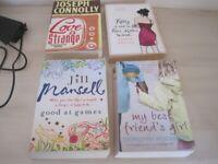 4 x woman's paperback books