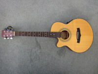 TANGLEWOOD INDIANA ELECTRO-ACOUSTIC GUITAR - UNUSED - AS NEW - LEFT HAND STRUNG
