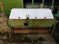 Tractor three point linkage pto driven soil reliever verti drain