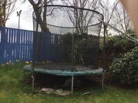 A children's garden trampoline free to a good home.