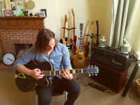 Guitar lessons! Experienced, professional and qualified teacher, all styles/skills welcome!