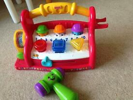 Fisher price laugh and learn work bench