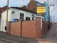 FREEHOLD BUSINESS PROPERTY FOR AUCTION SALE, IN HIGH PROMINENT POSITION BURSLEM, STOKE-ON-TRENT