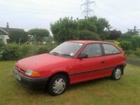 Vauxhall Astra 1.4 Merit. 1994 M reg. One Owner from new and only 60000 miles. Only £175.
