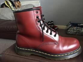 Leather Doc Martins