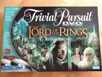 Trivia Pursuit The Lord of the Rings
