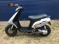 2009 Piaggio Typhoon Moped. 1 year MOT. Excellent Condition. Low Mileage.