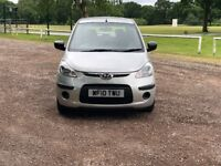 2010 HYUNDAI I10 1.2 SILVER 5DR 37K 2 OWNERS FROM NEW BARGAIN CAT D N DAMAGED REPAIRED