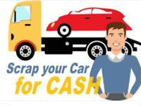 SCRAP YOUR CAR FOR CASH BEST PRICE PAID