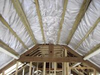 TLX Silver Multi Foil Insulation warm roof