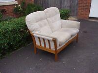 """Cintique """"Vermont"""" 2-Seater Sofa. Price £50."""