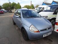 55 PLATE METALLIC BLUE FORD KA MOT JUST EXPIRED NEEDS BRAKE PADS £125