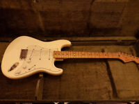Fender Stratocaster with hard case