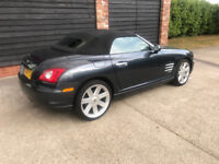 Crossfire excellent condition only 37557mls one owner charcoal grey new MOT and front tyres £5995.00