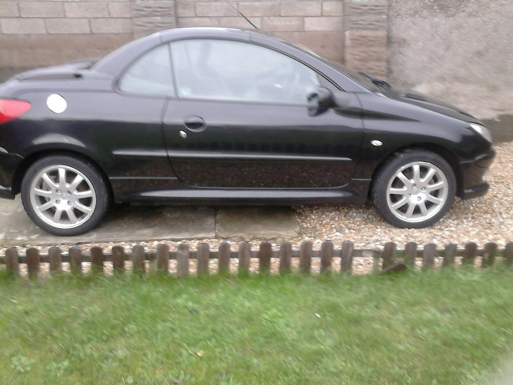 207 Peugeot 206 Cc 16 V Black In Port Talbot Neath Port