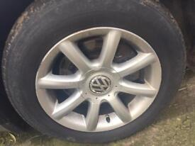 "15"" VW Passat B5.5 Highline Alloys 5x112"