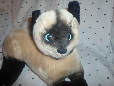 "Dakin 1973 Cat Kitten 14"" VINTAGE Plush Soft Toy Stuffed Animal"