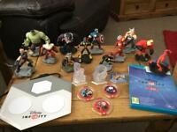 Disney infinity figures/games bundle