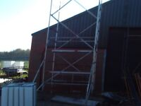 alloy scaffold tower 6.5m working