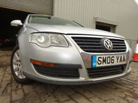 06 VOLKSWAGEN PASSAT 1.9 DIESEL,MOT AUG 017,PART HISTORY,3 OWNERS FROM NEW,LOVELY CAR THROUGHOUT