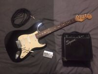 Westfield Electric Guitar with Squier amp, lead, and tuner - Perfect starter set