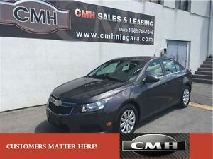 2011 Chevrolet Cruze LT TURBO BLUETOOTH *CERTIFIED*
