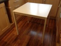IKEA Melltorp White Dining or Kitchen Table for 2 or 4 people