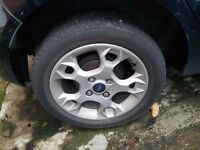 Ford fiesta alloy wheels mk8 mk9