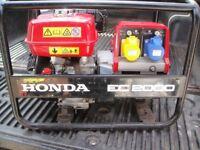 HONDA GENERATOR: EC 2000 (petrol)