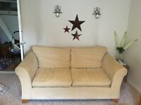 FREE TO COLLECTOR - 2 X 3 SEATER SOFAS. GOOD CONDITION