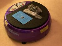 VIBRAPOWER Disc Vibration Plate Oscillation 50/60 Hz PURPLE BW-5040
