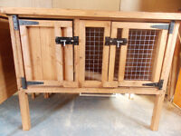 NEW - 3FT RABBIT/GUINEA PIG HUTCH - NEW