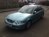 MG/ROVER 45 2.0 TD DIESEL 84K MILE NEW TYRES YEAR MOT like focus astra vectra mondeo a4 320 octavia