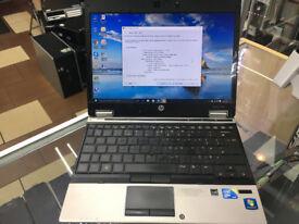 i7 fast 6GB ram HP ELITEBOOK 2540p Laptop/ quad core PROCESSOR/ 12.1 INCH